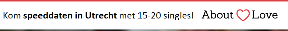 Speeddaten met 15-20 singles in Utrecht bij About Love